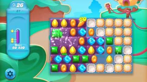 Candy Crush Jelly Saga Level 27