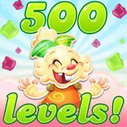 Jenny 500 levels!