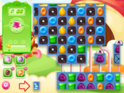 Level 1422 hidden board and special candies