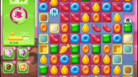 Candy Crush Jelly Saga Level 71 Hard Level NO BOOSTER