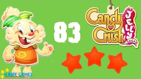 Candy Crush Jelly - 3 Stars Walkthrough Level 83 (Jelly mode)