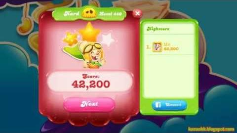 Candy Crush Jelly Saga Level 440 (No boosters)