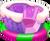Saga arena pin