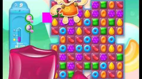 Candy Crush Jelly Saga Level 5 NEW (1st revision)