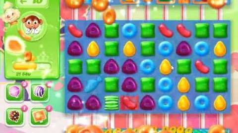 Candy Crush Jelly Saga Level 374 - NO BOOSTERS