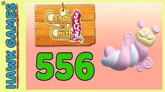 Candy Crush Jelly Saga Level 556 (Puffler mode) - 3 Stars Walkthrough, No Boosters