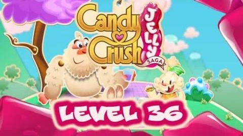 Candy Crush Jelly Saga Level 36
