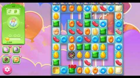 Candy Crush Jelly Saga Level 46 NO BOOSTER