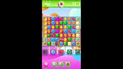 Candy Crush Jelly Saga Level 127 No Boosters