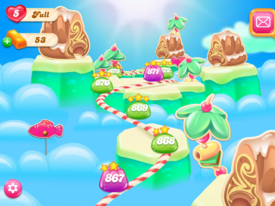 Juicy Jelly Islands Map 2