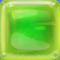 Green in Green Jelly cube