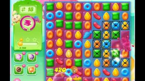 Candy Crush Jelly Saga Level 4 Jelly boss level ★★★
