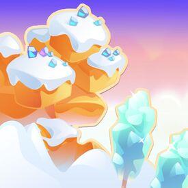 Frosty Fudge Fields background