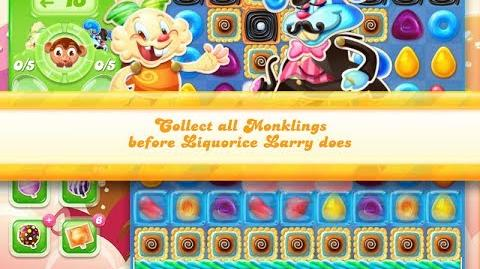 Candy Crush Jelly Saga Level 889 (3 star, No boosters)