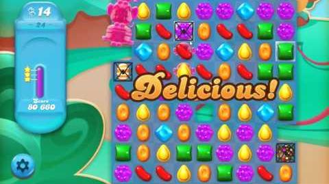 Candy Crush Jelly Saga Level 24