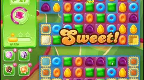 Candy Crush Jelly Saga Level 87 NO BOOSTER - I'm back