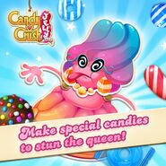 Jelly Queen Make special candies