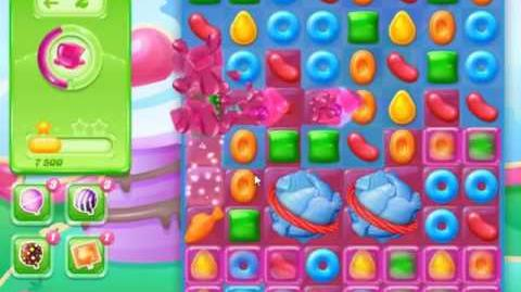 Candy Crush Jelly Saga Level 468 - NO BOOSTERS