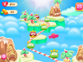 Juicy Jelly Islands Map 3