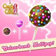 Colourbomb Lollipop