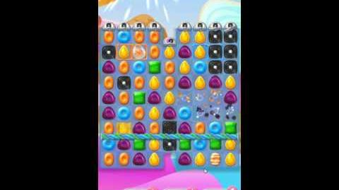Candy Crush Jelly Saga Level 141 No Boosters - Liquorice Larry Intro