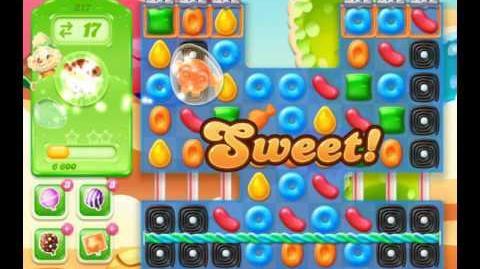 Candy Crush Jelly Saga Level 217