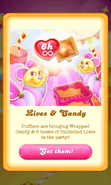 Free Gift Unlimited lives and Wrapped lollipop hammer Queen's party 5