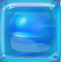 Blue in Blue Jelly cube