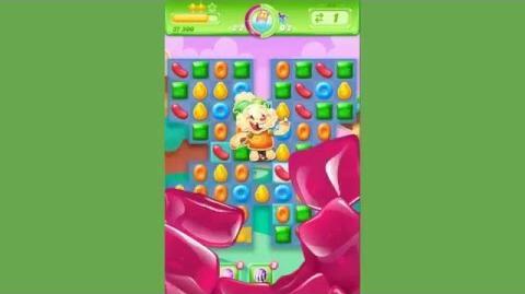 Candy Crush Jelly Saga Level 33 - Boss Cupcake Carl