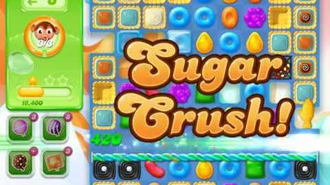 Candy Crush Jelly Saga Level 735 (3 star, No boosters)