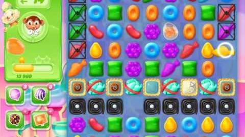Candy Crush Jelly Saga Level 282 - NO BOOSTERS