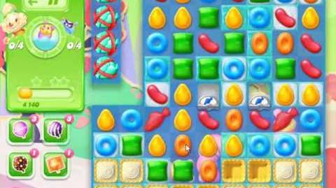 Candy Crush Jelly Saga Level 368 - NO BOOSTERS