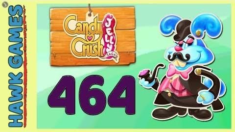 Candy Crush Jelly Saga Level 464 (Monkling Boss mode) - 3 Stars Walkthrough, No Boosters