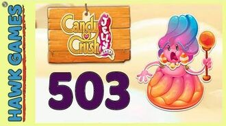 Candy Crush Jelly Saga Level 503 (Jelly Boss mode) - 3 Stars Walkthrough, No Boosters