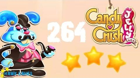 Candy Crush Jelly - 3 Stars Walkthrough Level 264 (Monkling Boss mode)