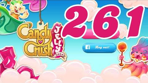 Candy Crush Jelly Saga Level 261 No Boosters