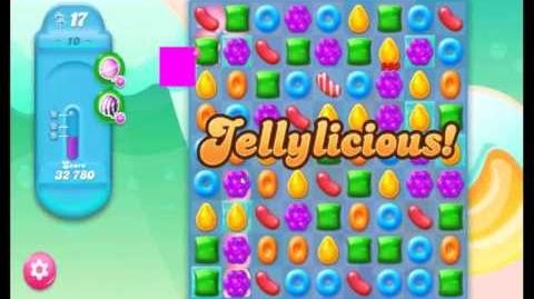Candy Crush Jelly Saga Level 10 NEW (1st revision)