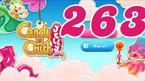 Candy Crush Jelly Saga Level 263 No Boosters