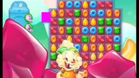 Candy Crush Jelly Saga Level 15 NEW (1st revision)