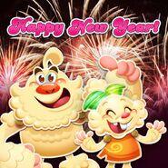 Yeti Jenny Happy New Year 2018!