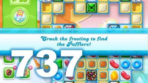 Candy Crush Jelly Saga Level 737 (3 star, No boosters)
