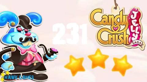 Candy Crush Jelly - 3 Stars Walkthrough Level 231 (Monkling Boss mode)