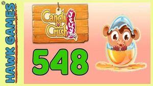 Candy Crush Jelly Saga Level 548 (Monkling mode) - 3 Stars Walkthrough, No Boosters