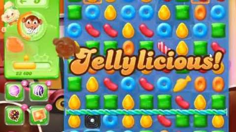 Candy Crush Jelly Saga Level 382 - NO BOOSTERS