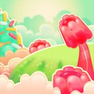 Marzipan Meadow background