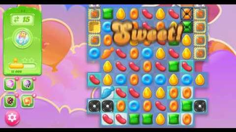 Candy Crush Jelly Saga Level 44 NO BOOSTER