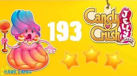 Candy Crush Jelly - 3 Stars Walkthrough Level 193 (Jelly Boss mode)