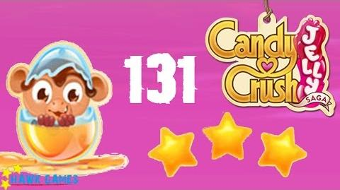 Candy Crush Jelly - 3 Stars Walkthrough Level 131(Monkling mode)