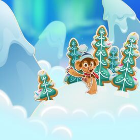 Gingerbread Hills background
