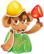 Monkey error